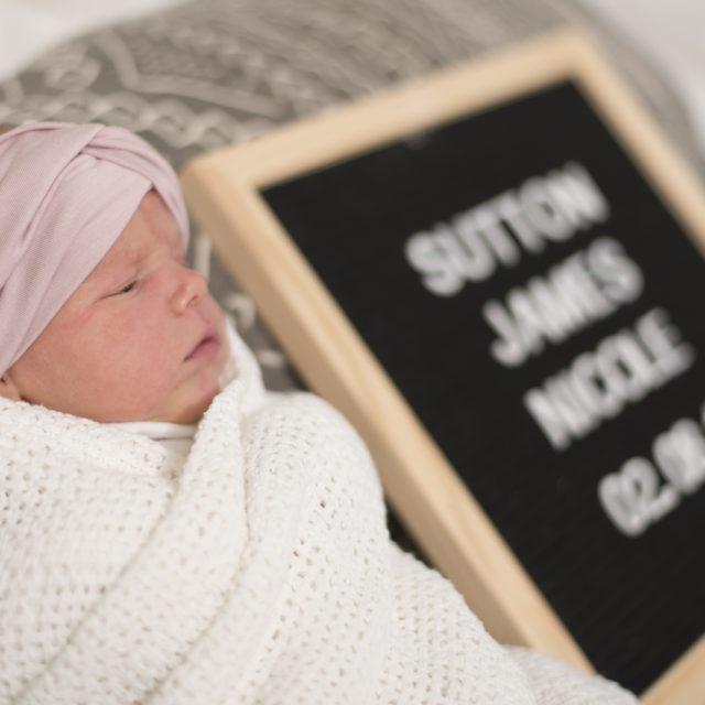 Sutton James New Born LifeStyle Blog 1